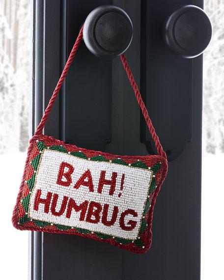 """""""Bah! Humbug"""" Door Knocker"""