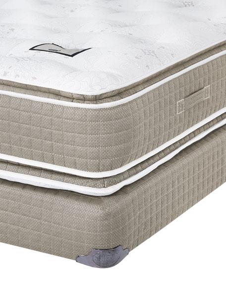 Saint Michele Villa Rosa Collection Queen Mattress & Box Spring Set