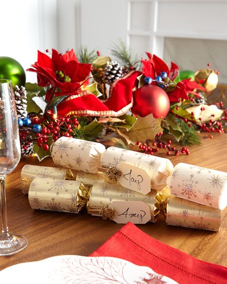 Gold Crown Christmas Crackers