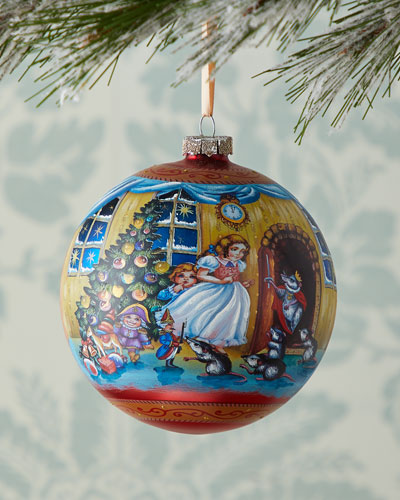 Story of Clara and the Nutcracker Limited Edition Glass Ball