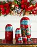 Mr. Christmas Nesting Dolls, Set of 5
