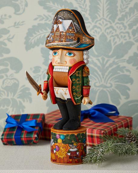 The Nutcracker Wood-Carved Figurine