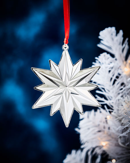 Gorham Sterling Silver Snowflake Ornament
