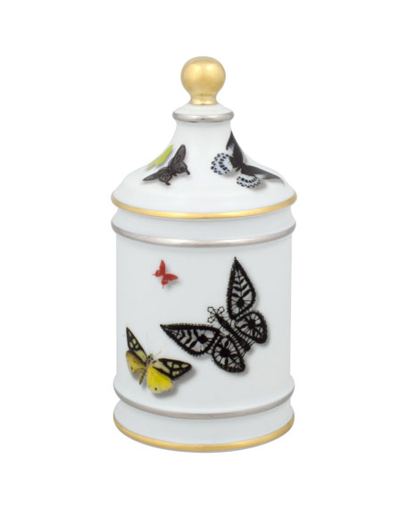 Christian Lacroix Butterfly Sugar Bowl