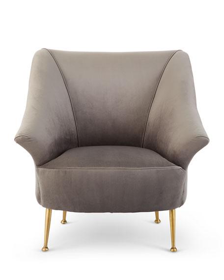 Chloe Velvet Chair