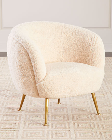 Beretta Sheepskin Chair