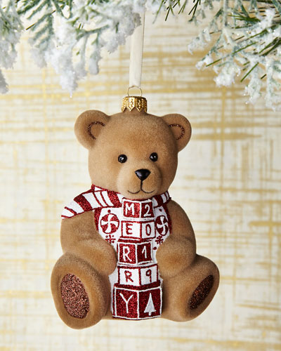 Merry 2019 Bear Ornament