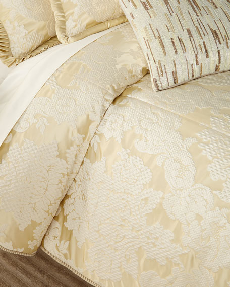 Austin Horn Collection Elizabethan 3-Piece Queen Comforter Set