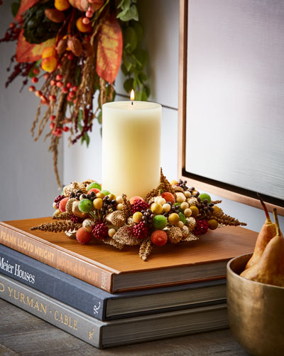 Harvest Glow Candle Ring