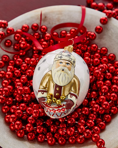Jingle Ball Father Christmas Ornament