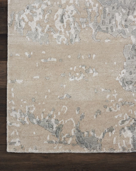 Hampton Hand-Knotted Rug, 8' x 10'