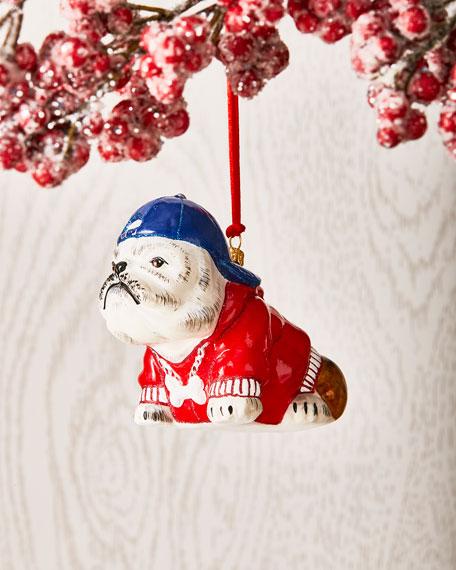 Joy To The World Collectibles Bulldog in Backwards