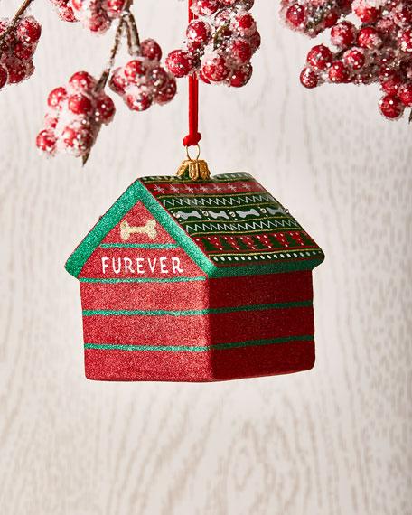 Dog House Christmas Ornament
