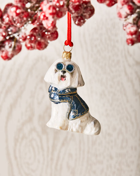 Joy To The World Collectibles Maltese in Denim