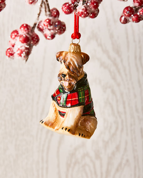 Soft Coated Wheaten Terrier Dog Ornament