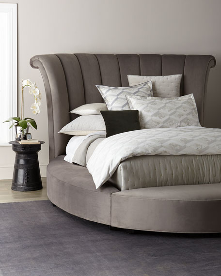 Haute House Katya Round King Platform Bed
