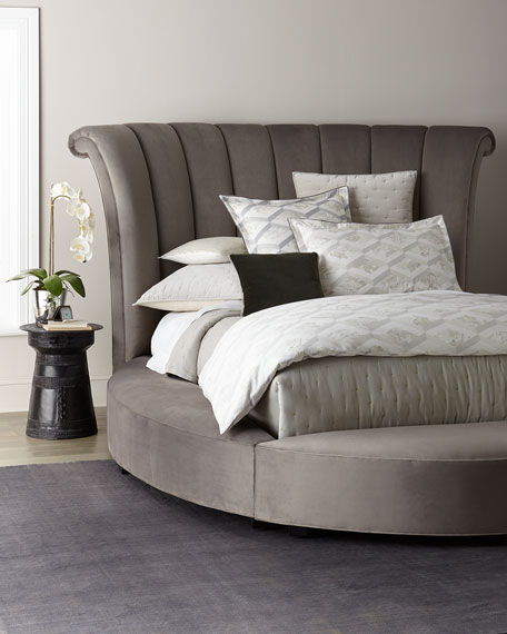 Katya Round California King Platform Bed