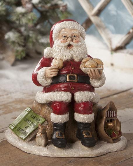 Bethany Lowe Counting Calories Santa
