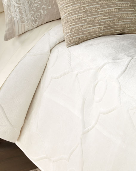 Visto Quilted King Coverlet
