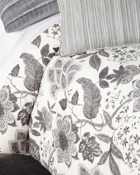 Kennedy Floral Print Queen Duvet