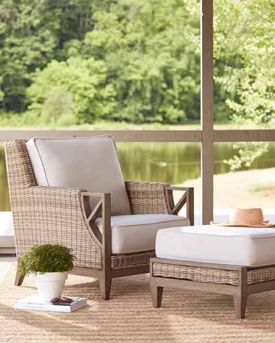 Summer Creek Outdoor Ottoman