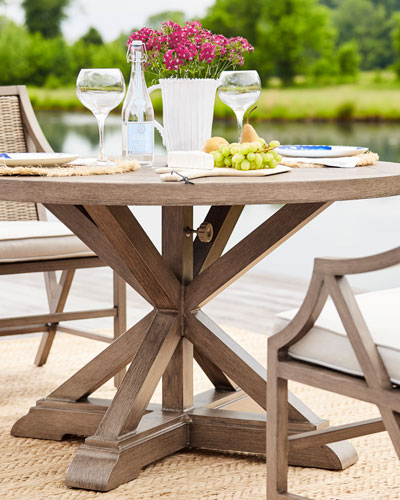 Designer Outdoor Tables At Horchow