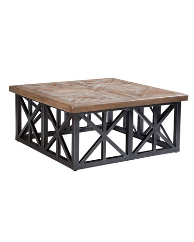 Arch Salvage Outdoor Oliver 42 Coffee Table