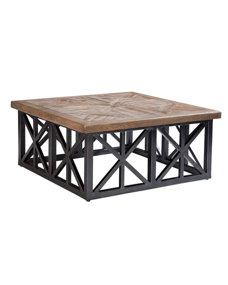 """Arch Salvage Outdoor Oliver 42"""" Coffee Table"""