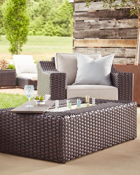 Brannon Outdoor Drink Table