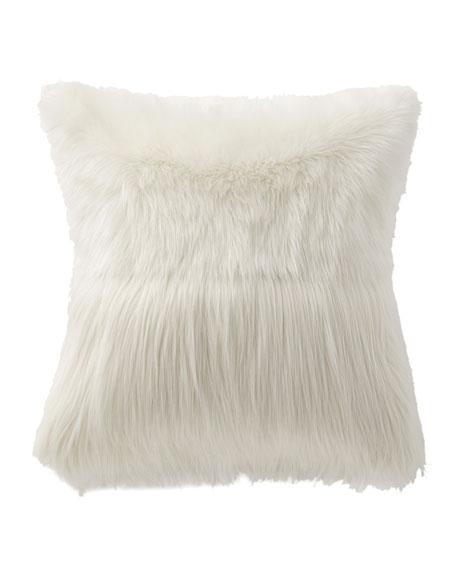 Esme Faux-Fur Decorative Pillow