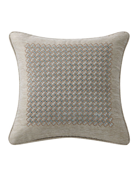 Highline Abstract Floral Decorative Pillow
