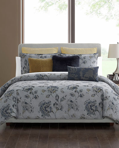 Grayson 3-Piece Full/Queen Comforter Set