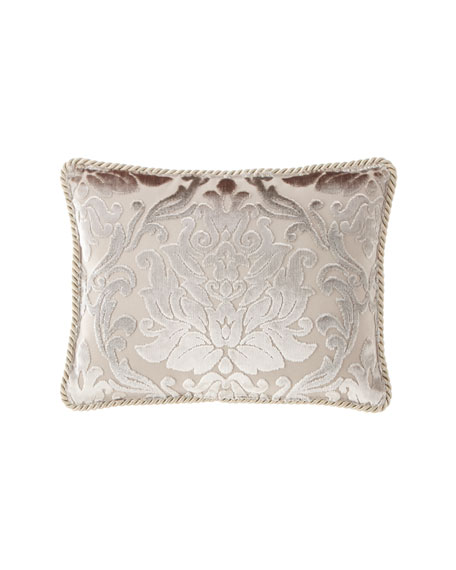 Classic Damask Oblong Pillow