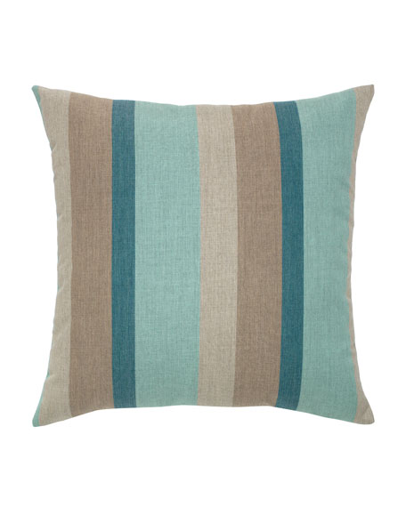 Elaine Smith Colorblock Sunbrella Pillow