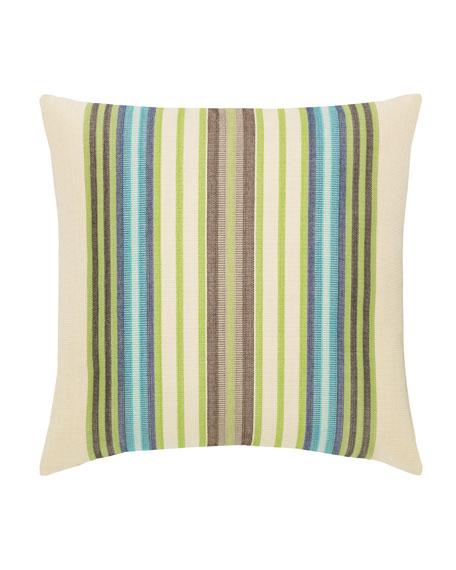 Multi-Stripe Sunbrella Pillow