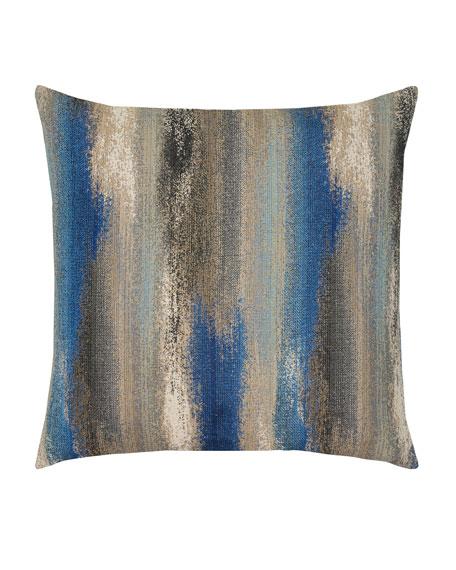 Painterly Mediterranean Sunbrella Pillow