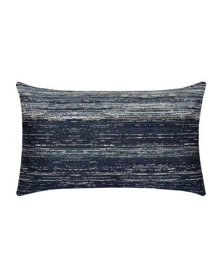 Textured Lumbar Sunbrella Pillow