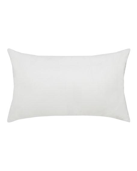 Polka Stripe Lumbar Sunbrella Pillow