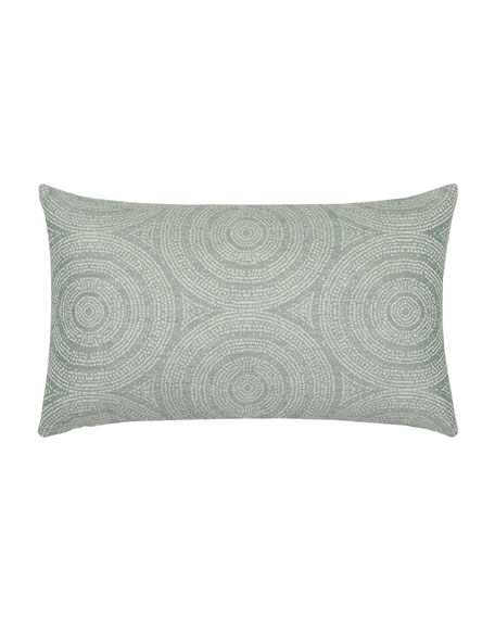 Cosmos Lumbar Sunbrella Pillow
