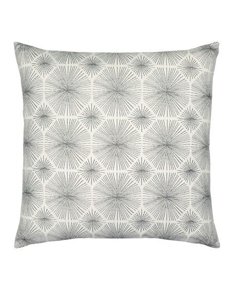 Radiance Sunbrella Pillow, Smoke