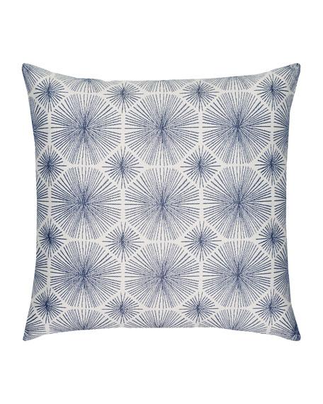 Radiance Sunbrella Pillow, Indigo