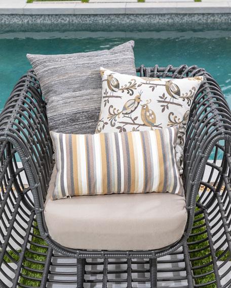 Moda Stripe Indoor/Outdoor Pillow