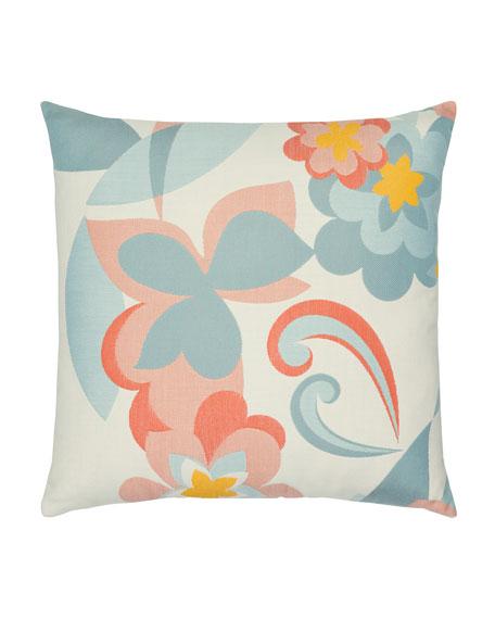 Floral Pop Sunbrella Pillow