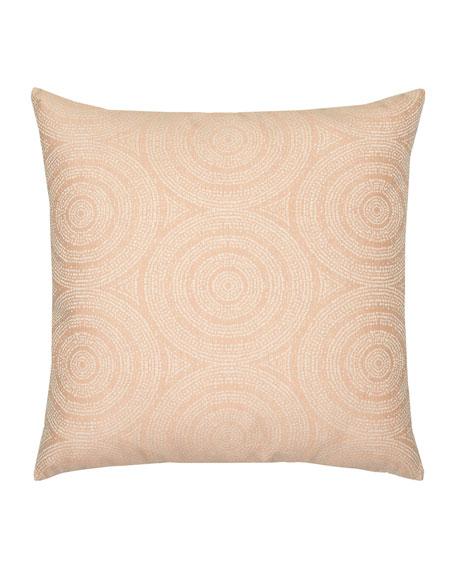 Cosmos Whisper Sunbrella Pillow, Pink