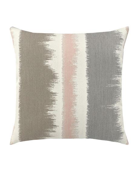 Murmur Whisper Sunbrella Pillow, Gray