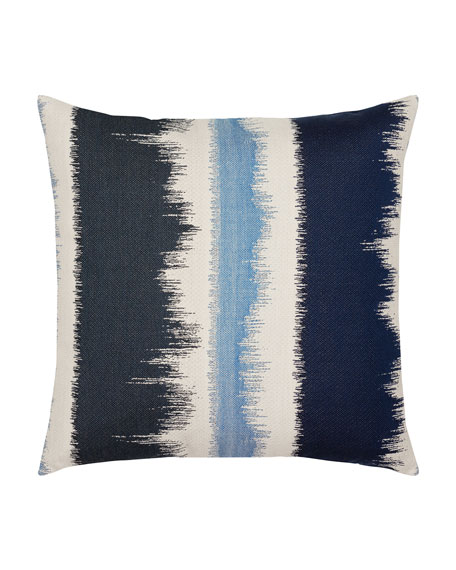 Murmur Sunbrella Pillow, Dark Blue