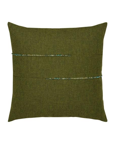 Garden Sunbrella Pillow, Green