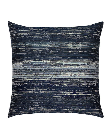 Textured Sunbrella Pillow, Indigo