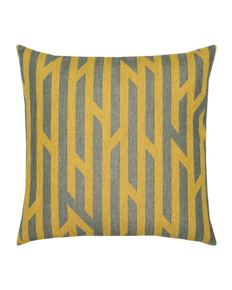 Zest Sunbrella Pillow, Dark Orange