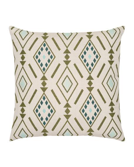 Cusco Sunbrella Pillow, Ivory